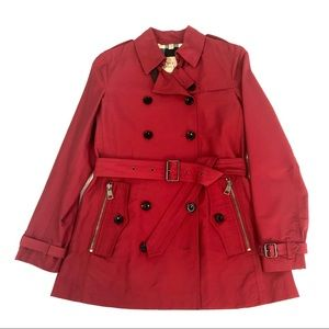 Authentic Burberry Brit Brooksby Trench Coat